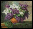 Lilacs - Cross Stitch Chart