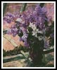 Lilacs in a Window - Cross Stitch Chart