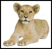 Lion Cub 2 - Cross Stitch Chart