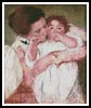Little Ann sucking her fingers - Cross Stitch Chart