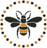 Little Bee - Cross Stitch Chart