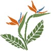 Little Bird of Paradise 2 - Cross Stitch Chart