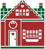 Little Christmas Cottage 1 - Cross Stitch Chart