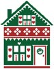 Little Christmas Cottage 2 - Cross Stitch Chart