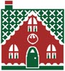 Little Christmas Cottage 3 - Cross Stitch Chart