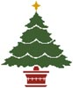 Little Christmas Tree - Cross Stitch Chart