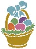 Little Easter Basket - Cross Stitch Chart