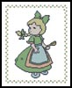 Little Sarah 2 - Cross Stitch Chart