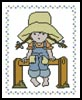 Little Sarah 4 - Cross Stitch Chart