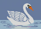 Little Swan - Cross Stitch Chart