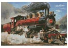 Locomotive - Cross Stitch Chart