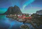 Lofoten Norway - Cross Stitch Chart