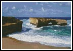London Bridge, Great Ocean Road - Cross Stitch Chart