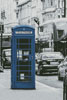 London Phone Booth (Blue) - Cross Stitch Chart