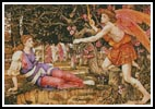 Love and the Maiden - Cross Stitch Chart