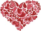 Love Heart - Cross Stitch Chart
