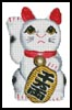 Lucky Cat (Right) - Cross Stitch Chart