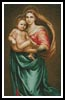 Madonna and Baby Jesus - Cross Stitch Chart