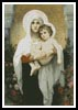 The Madonna of the Roses - Cross Stitch Chart