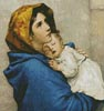 Madonna of the Streets (Crop) - Cross Stitch Chart