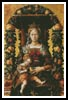 Madonna of the Tapers - Cross Stitch Chart