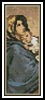 Madonna of the Streets Bookmark - Cross Stitch Chart