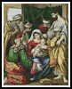 Magi making Symbolic Offerings - Cross Stitch Chart