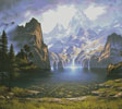 Majestic Vision (Cushion) - Cross Stitch Chart
