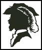 Man Silhouette - Cross Stitch Chart