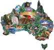 Map of Australia - Cross Stitch Chart