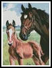 Mare and Foal - Cross Stitch Chart