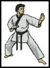 Martial Arts Boy - Cross Stitch Chart