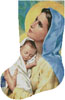 Mary and Baby Jesus Stocking (Left) - Cross Stitch Chart