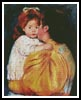 Maternal Kiss - Cross Stitch Chart