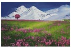 Meadow in the Alps - Cross Stitch Chart