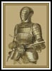 Medieval Armour - Cross Stitch Chart