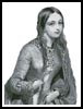 Medieval Lady - Cross Stitch Chart