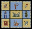 Medieval Sampler - Cross Stitch Chart