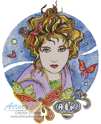 Air - Cross Stitch Chart