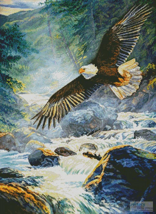 American Majesty - Cross Stitch Chart
