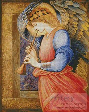 An Angel - Cross Stitch Chart