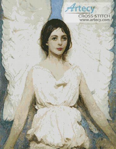 Angel - Cross Stitch Chart