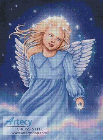 Angel of the Air and Heavens - Cross Stitch Chart