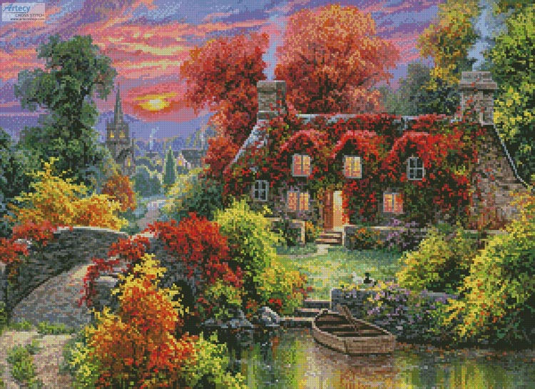 A Place to be Still - Cross Stitch Chart