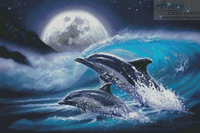 Aquatic - Cross Stitch Chart