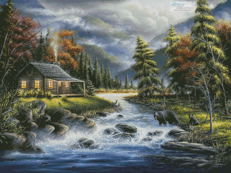 As Autumn Approaches (Large) - Cross Stitch Chart