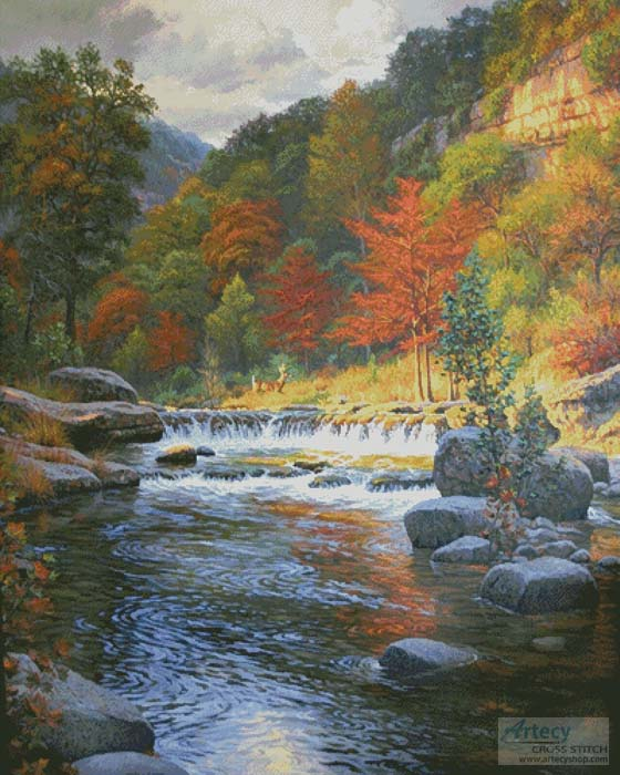 Autumn Serenity (Large) - Cross Stitch Chart