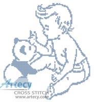 Baby Boy - Cross Stitch Chart