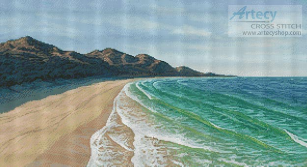 Beach - Cross Stitch Chart
