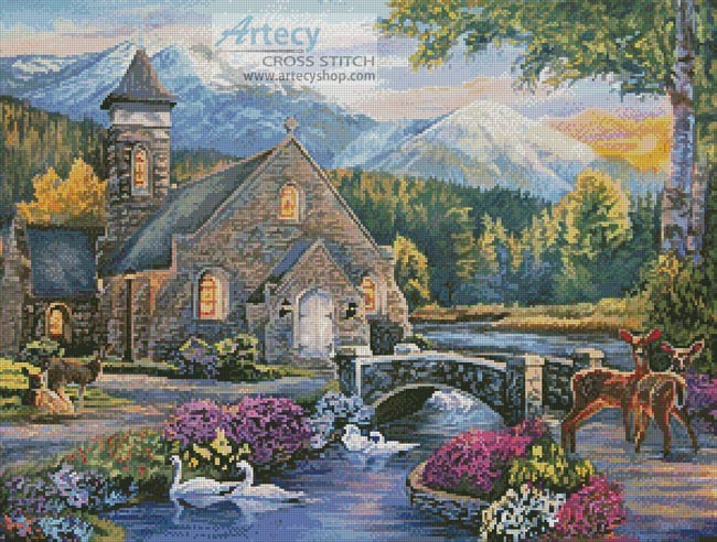 Beside still Waters - Cross Stitch Chart